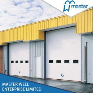 Electric Overhead Industrial Door/PU Foamed Steel Industrial Door pictures & photos