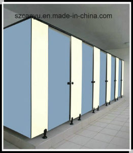 Wood Toilet Partition Wall for School Hotel Toilet pictures & photos