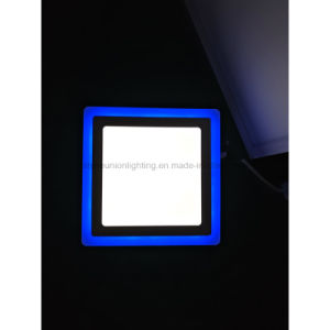 3+2W LED Panel Light with Blue Edge pictures & photos