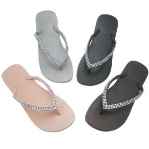 Hot Sale Beach Sandals Rubber Flip Flops for Women pictures & photos