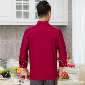Factory Price Custom Made Mens Chef Uniform of Cotton pictures & photos