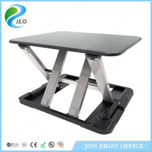 Height Adjustable Gas Lifting Sit Stand Desktop/Sit Stand Desk (JN-LD04) pictures & photos