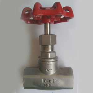 Stainless Steel Globe Valve with Thread End 200wog