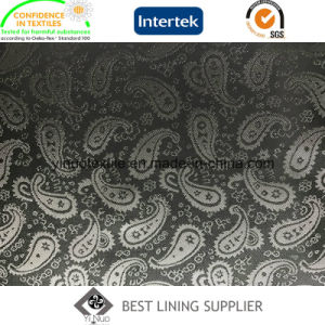 Eco-Friendly 55%Polyester 45%Viscose Jacquard Lining pictures & photos