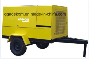 Screw Wheels Diesel Portable Construction Mobile Air Compressor (PUD 12-07) pictures & photos