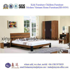 Easy Assembled Bedroom Sets Furniture Wooden Bed (SH-003#) pictures & photos