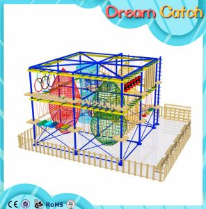 Kids Ropes Climbing Frameset Outward Development for Kids Activity Center pictures & photos