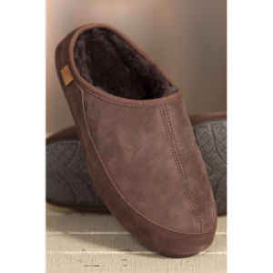 Men′s Connor Mule Sheepskin Slippers pictures & photos