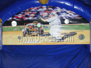 Baseball Shooter Inflatable Baseball Arena for Carnival pictures & photos