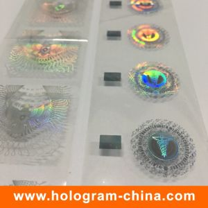 Custom Demetalation Passport Hologram Hot Stamping Foil pictures & photos