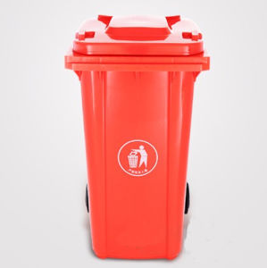Top Supplier 240 Liter HDPE Durable Plastic Wheelie Bin Trash Can pictures & photos