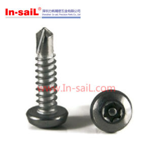 ISO15483 Phillips Cross Recessed Countersunk Head Self Drilling Screw pictures & photos
