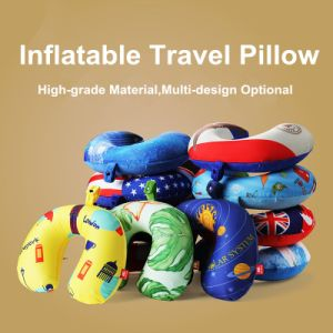 Fashion Easy Cleaning Travel U Neck Comfort Pillow with Cover pictures & photos