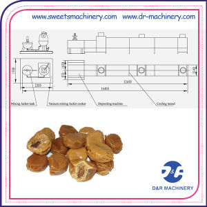 Toffee Candy Production Line Toffee Depositing Machine Making Equipment pictures & photos