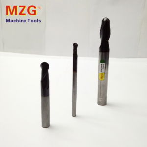 2t High Speed Tungstan/White Steel Ball End Mill pictures & photos