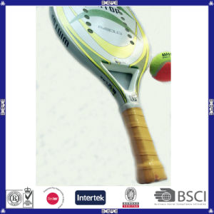 Btr-4006 a-Gold Full Carbon and Kevlar with Soft EVA Beach Racket pictures & photos