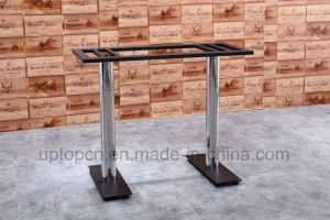 Durable Plywood Rectangle Restaurant Table with HPL for Dining Room (SP-RT497) pictures & photos