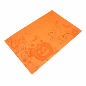 3mm & 5mm Laser 100% Polyester Placemat for Halloween Decorations pictures & photos