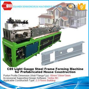 Vertex Software C89 Light Gauge Steel Forming Machine for Villa pictures & photos