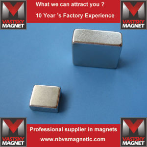 Neodymium Square Magnet for Electronics and LED Lighting Industries pictures & photos