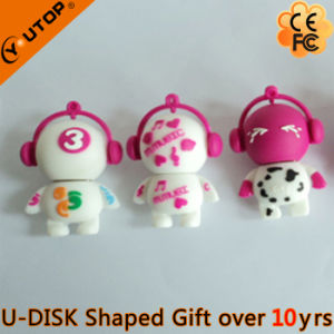 Personalized Colorful PVC Advertising Gift USB Flash Stick (YT-6433-06) pictures & photos