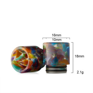 Newest Colorful Resin Drip Tip for Tfv8 Resin Drip Tip pictures & photos