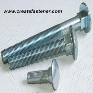 DIN603 Zinc Plated Carriage Bolt Class 8.8 pictures & photos