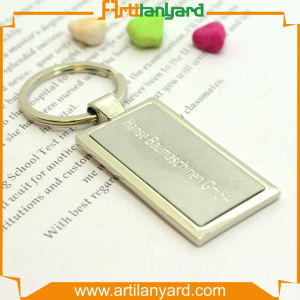 Customer Hollow Design Business Logo Keychain pictures & photos