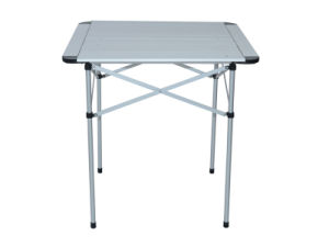 Topsales Aluminum Light Weight Camping Outdoor Portable Table (QRJ-Z-002) pictures & photos