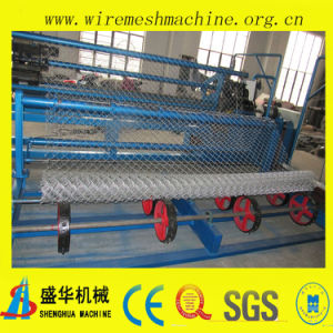Low Price and High Quality Automatic Chain Link Fence Machine pictures & photos