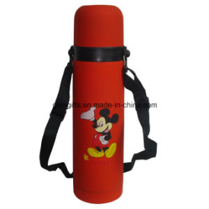 Thermos Bottle with Printing Travel Bottle pictures & photos