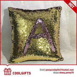Wholesale Solid Mermaid Sequin Cushion Cover, Decorative Throw Pillowcases pictures & photos