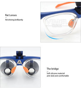 Dental Equipment Surgical Dental Glasses 3.5X 420mm Medical Dental Loupes pictures & photos