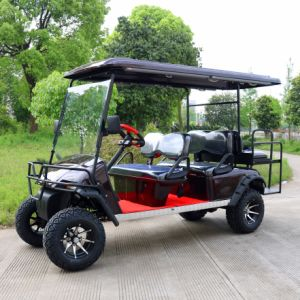 Good Quality 6 Seater off Road Electric Golf Cart pictures & photos