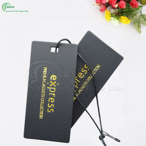 Beautiful Garment Paper Tags for Sale (KG-PA039)