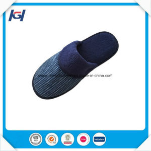 Warm Winter Plain Custom House Slippers for Men pictures & photos
