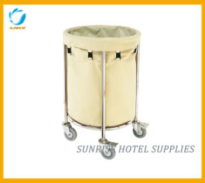Hotel Cleaning Service Laundry Linen Maid Trolley pictures & photos