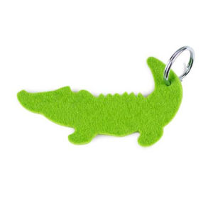 Popular Hot Custom Logo on Colors Felt Keychain pictures & photos