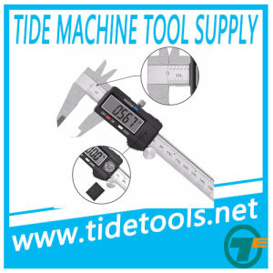 """High Quality Popular Inch Metric 6"""" 150mm Digital Caliper 75/100/150/200/300mm pictures & photos"""