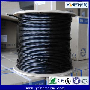 Outdoor Cat5 UTP LAN Cable 100% Copper Internet Cable Water Resistant Ce RoHS Certified pictures & photos