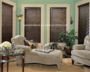 Wooden Windows Blinds Fashion Quality Wood Blinds pictures & photos