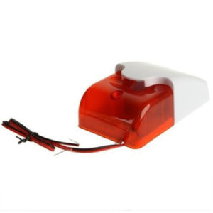 Wired Strobe Siren with Flash Light for Alarm System (SFL-103) pictures & photos