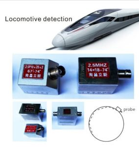 NDT Locomotive Detection, Tyre Combination Single/Two/Three/Four Crystal Probe (GZHY-Probe-011) pictures & photos
