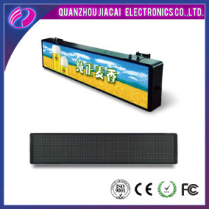 Waterproof 3G Control Taxi Roof Video LED Display pictures & photos