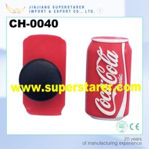 Cocacola Shape Shoe Charms Plastic Shoe Decorations pictures & photos