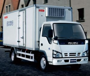 Isuzu 600p Refrigerator Truck pictures & photos