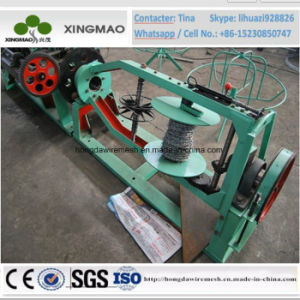 China Manufacturer Single Strand Barbed Wire Mesh Making Machine (XM21) pictures & photos