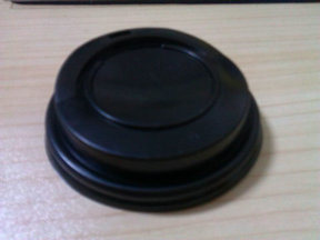 8oz 80mm Disposable PS Plastic Lid for Paper Cup pictures & photos
