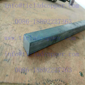Titanium Clad Aluminum Square Bar Electrode for Cathodic Protection in Corrosion Systems pictures & photos