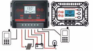 10A 20A 30A 12V/24V Dual-USB-5V/2.5A Solar Charge Controller Ysn-10A pictures & photos